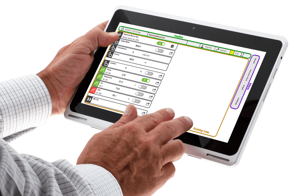 Cytosys Tablette Software