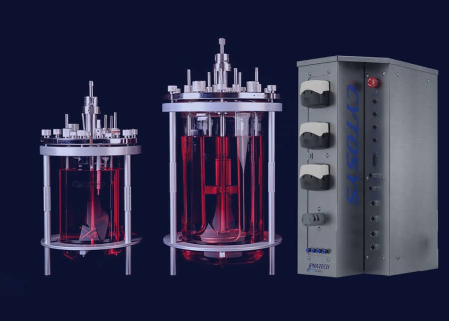 ipratech cytosys and electrolab vessel